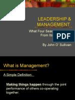 Leadership & Management_feb 09