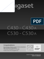 Gigaset C430 Guide