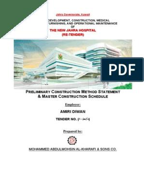 01- Jahra Hospital Method of Construction | General