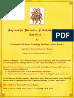 Nakshatra Facebook Research Group