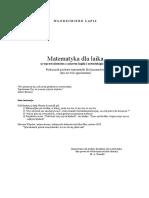 Lapis W - Matematyka Dla Laika