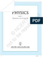 ncert physics part1 1st year higher secondary school text book