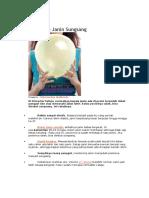 Analisis Studi Kasus Penyebab Bayi Sungsang