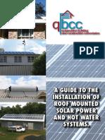 QBCC Solar PV Installation Guide