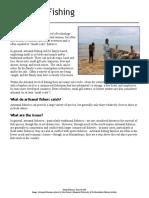 Fact Card - Artisanal Fishing