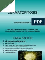 Gambaran Klinis Dermatofitosis (Penyakit jamur pada kulit)