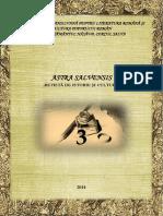 Astra Salvensis an II Numar 3 2014