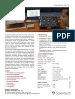 Scientech 2323 Op Amp Applications