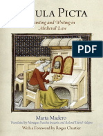 Madero-Tabula Picta. Painting and Writing in Medieval Law
