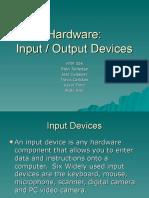 Hardware i o Device