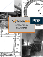 Refractory Product Catalogue - VINAREF - English