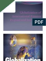 Globalization of International Finance