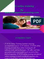 Best MSBI online training | MSBI tutorial classes in India