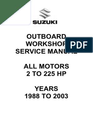 suzuki-outboards-workshop-manual-1 pdf | Ventilation (Architecture
