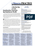 The Red Eye the Swollen Eye and Acute Vision Loss Handling Non Traumatic Eye Disorders in the ED