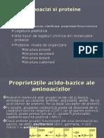Proteine  si aminoacizi