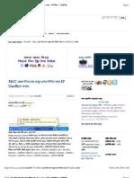 All About Mac Adress