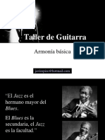 Armonía básica para guitarra