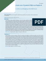Experiências Internacionais Com o Orçamento Público Por Regime de Competência