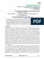 Enhancing Productivity and Resource Use Efficiency of Rice-Fallow through Introduction of Pulses