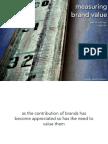 Measuring Brand Value | Patrick Collings