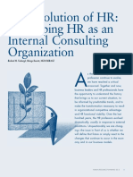 History of HR