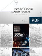Social Realism Posters Analyses