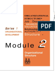 Study on Organizational growth stages and their structural impact
