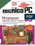 5-Motherboard, Conectores, Zócalos y Energía