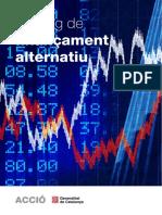 Catálogo de Proveedores de Fondos Alternativos en Cataluña 2015