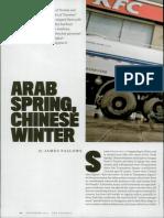 Arab Spring- Chinese Winter