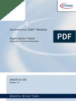Infineon-AN2010 09 Automotive IGBT Modules Explanations-An-V1.0-En