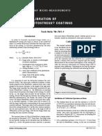TN-701-1 Photoelasticity