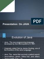 Java Ppt Divyangna