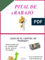 Capital de Trabajo ..