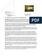 Seneca White Deer Inc News Release