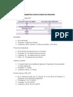 15 Parámetros Ventilatorios en Pediatría