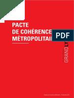 Pacte de cohérence métropolitain