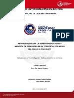 Lipa Leonel Deteccion Vacios Espesores Concreto Ultrasonico