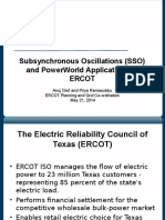 Subsynchronous Oscillations (SSO) WECC_ERCOT_Presentation