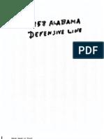 1958 Alabama Bear Bryant Defense 58,65,66,70