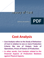 16793Theory of Cost