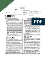 UGC NET English Paper 2 December 20131
