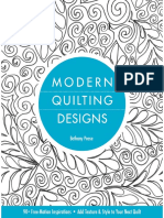 Bethany Nicole Pease - Modern Quilting Designs. 90+ Free-Motion Inspirations - Add Texture & Style to Your Next Quilt  - 2012