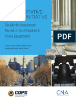 DOJ six-month assessment report on PPD