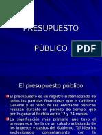 Presupuesto Público1