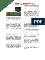 Granada-Leganés Copa 2015