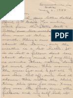Vondran Letters Part 1