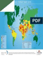 World Threat Map 2015