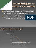 Evolução Mercadológica financeira e creditícia